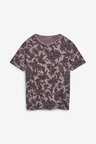 Next Floral Skull Print T-Shirt