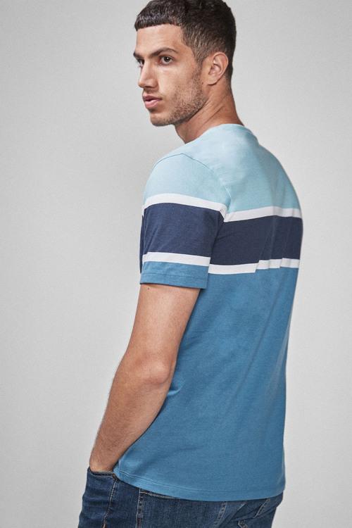 Next Block Chest Stripe T-Shirt