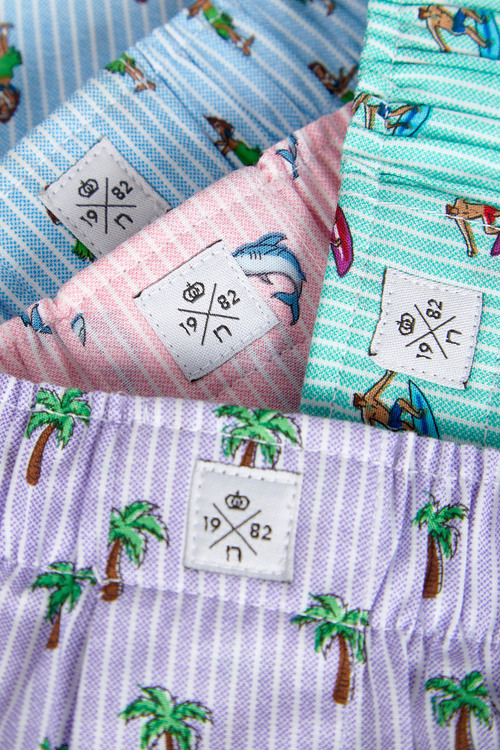 Next Woven Boxers Pure Cotton Four Pack