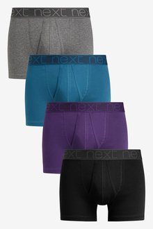 Next A-Fronts Pure Cotton Four Pack