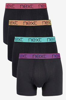 Next Palm Tree Waistband A-Fronts Four Pack