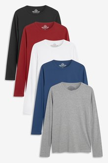 Next Long Sleeve T-Shirts Five Pack