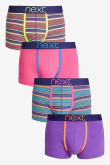 Next Stripe Hipsters Four Pack