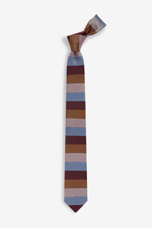 Next Block Stripe Tie