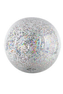 Air Time Holographic Glitter Beach Ball