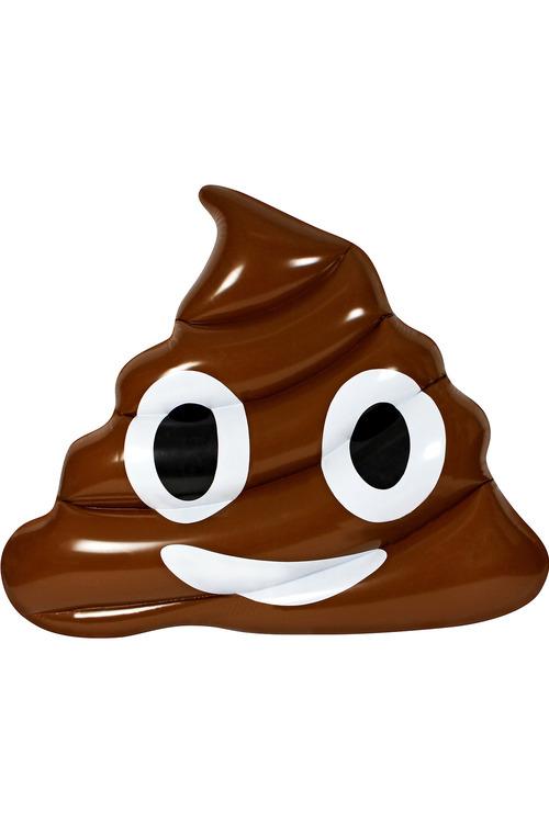 Air Time Poo Emoji Lounger