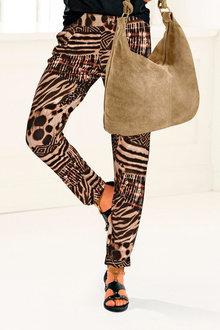 Heine Animal Print Jersey Pants