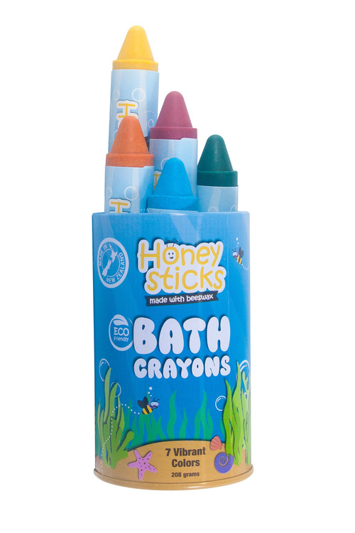 Honeysticks Beeswax Bath Crayons