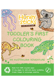 Honeysticks Australian Adventure Colouring Book