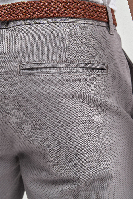 5e7fb79ebe6ebd Next Ditsy Print Belted Chino Shorts Online   Shop EziBuy