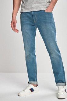 Next Green Tint Jeans- Slim Fit