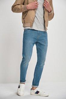 Next Green Tint Jeans- Super Skinny Fit