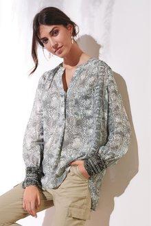Next Embellished Cuff Blouse - 235200