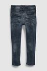 Next Blue/Black Super Skinny Five Pocket Jeans (5-16yrs)