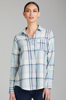 Capture Linen Cotton Roll Cuff Shirt