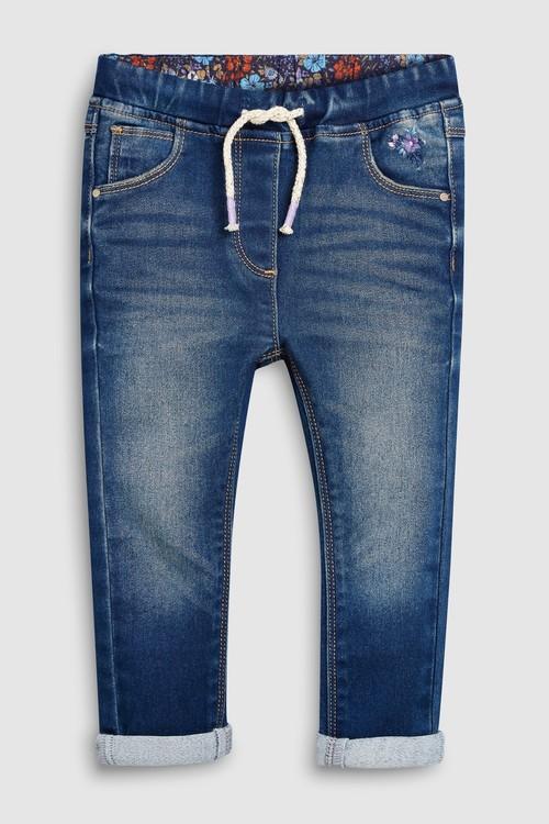Next Jersey Denim Pull-On Jeans (3mths-7yrs)