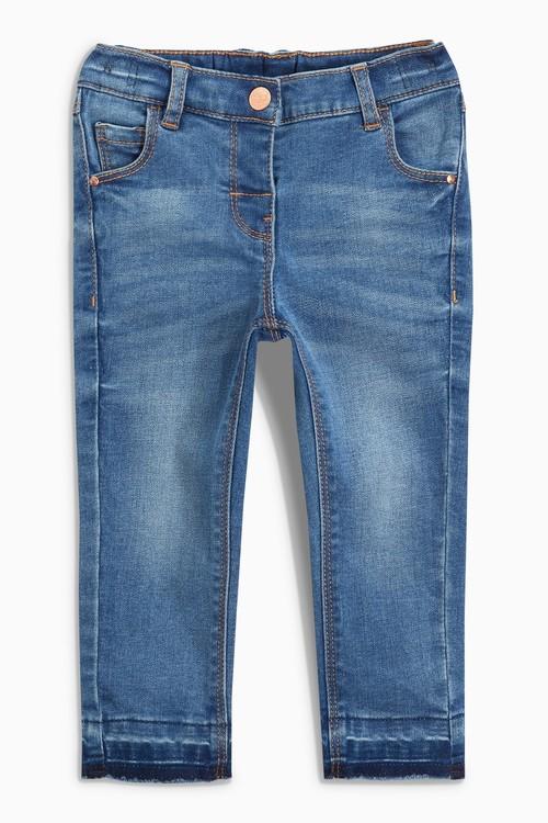 Next Mid Blue Skinny Jeans (3mths-7yrs)