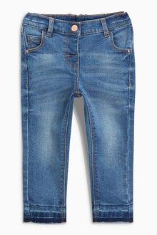 Next Mid Blue Skinny Jeans (3mths-7yrs) - 235409