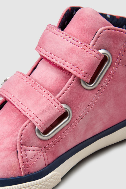 Next PINK HIGH TOP TRAINERS