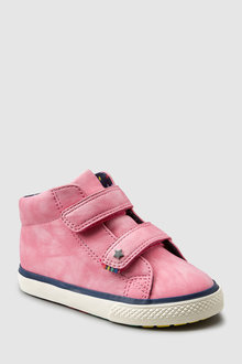 Next PINK HIGH TOP TRAINERS - 235427