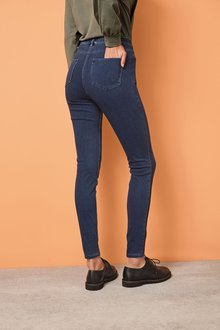 Next Dark Blue Jersey Denim Leggings - 235493