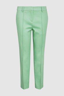 Next Mint Cotton Rich Capri Trousers - 235504