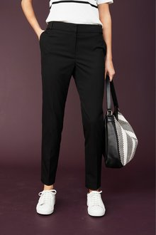 Next BLACK TAILORED SLIM TROUSERS - 235509