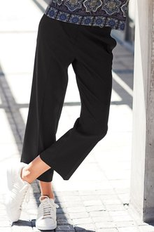 Next BLACK CULOTTE TROUSERS - 235518