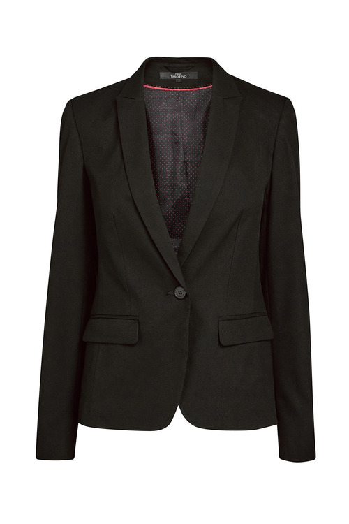 Next Black Single Breasted Tailored Fit Jacket