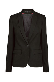 Next Black Single Breasted Tailored Fit Jacket - 235618