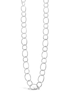By Fairfax & Roberts Contemporary Open Link Long Necklace - 235696