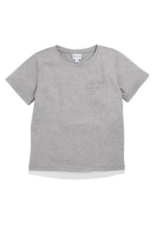Pumpkin Patch Contrast Hem T-shirt