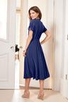 European Collection Jersey Shirt Dress