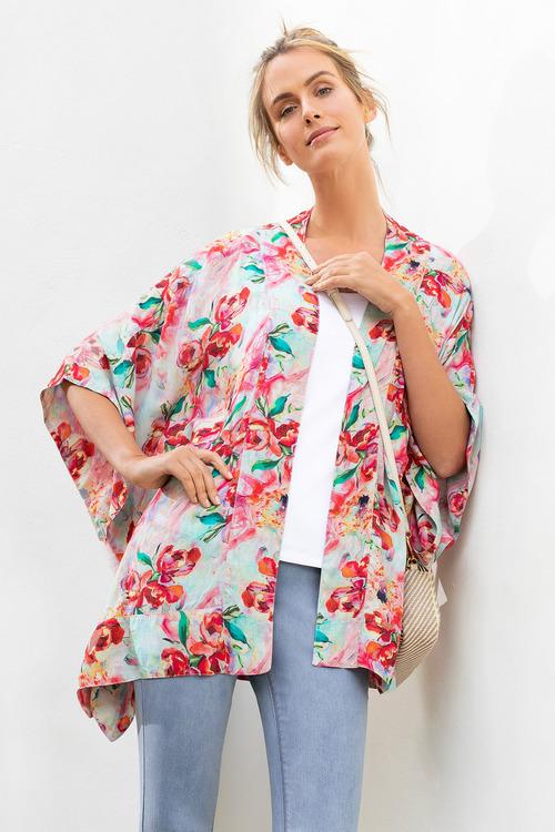 Capture Printed Kimono