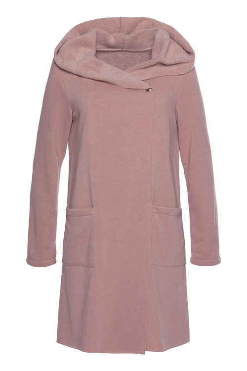 Urban Hooded Terry Coat