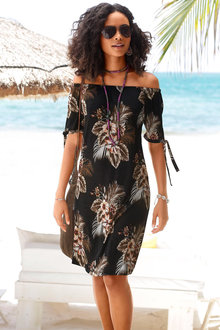 Urban Printed Beach Dress - 235749