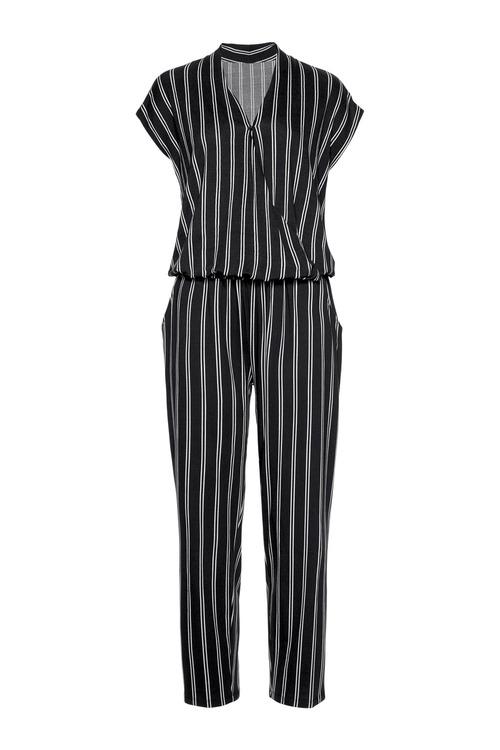 Urban Striped Jumpsuit