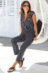 Urban Striped Jumpsuit