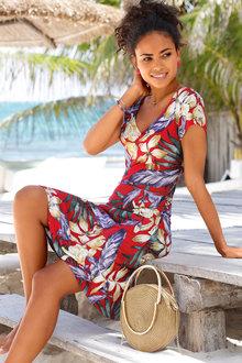 Urban Printed Dress - 235755