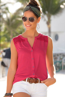Urban Sleeveless Shirt - 235757