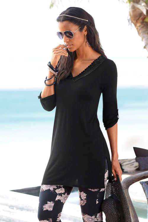 Urban Lace Trim Tunic