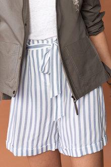 Emerge Paperbag Waist Tie Shorts