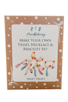 Make Your Own Tassel Necklace and Bracelet - 235809
