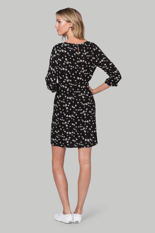 Euro Edit Printed Dress