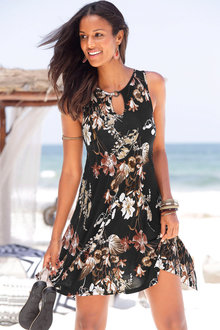 Urban Keyhole Beach Dress