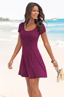 Urban Fit and Flare Dress