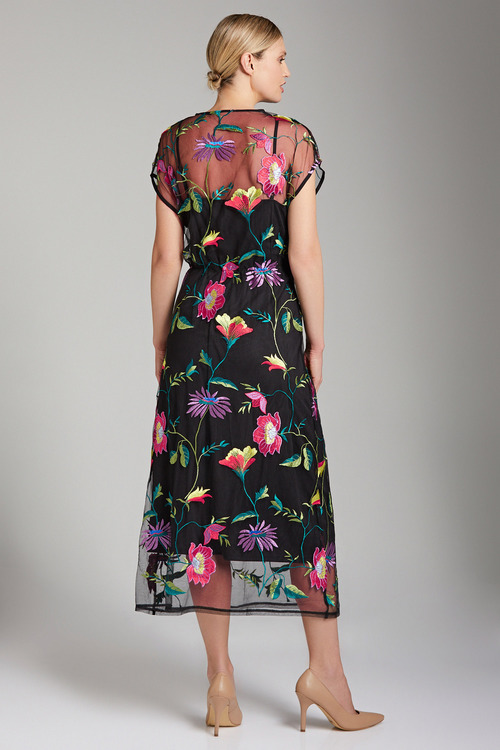 Capture Embroidered Lace Dress
