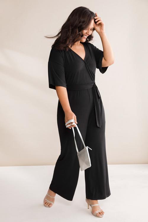 Plus Size - Sara Party Jumpsuit