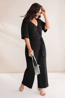 Plus Size - Sara Party Jumpsuit - 235869