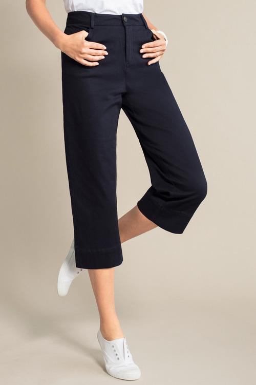 Capture Wide Leg Crop Pants